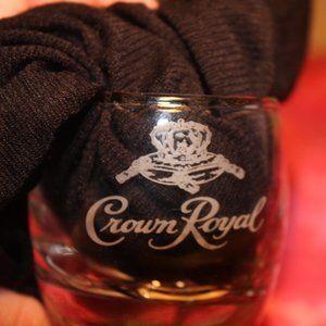 Crown Royal Whisky mini lot Bubble base